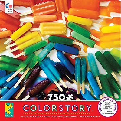 Ceaco 2939-3 Colorstory Popsicles Puzzle - 750Piece: Toys & Games
