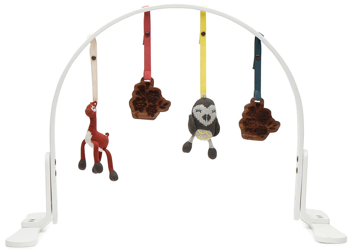 Natural wooden toy Gift for a child on the first birthday rocking swinging