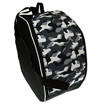 Bolsas para botas de esquí Boot Bag patines con ruedas o de hielo Camuflaje Militar [054]: Amazon.es: Deportes y aire libre