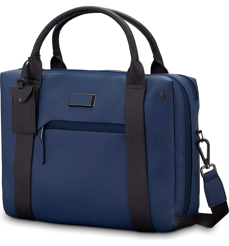 [ベッソル] メンズ ビジネス系 Vessel Signature 2.0 Faux Leather Briefc [並行輸入品] B07S7VJT61  One-Size