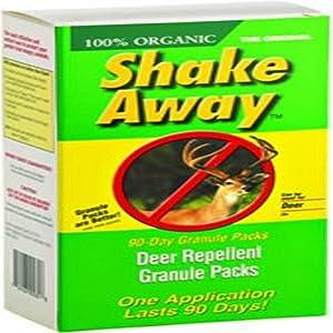 Shake-Away Coyote Urine Packs (4 individual) 4 Ounce Packs)