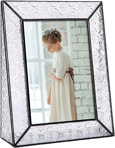 J Devlin Clear Glass Photo Frame Portrait or Landscape Free Standing Pictuire
