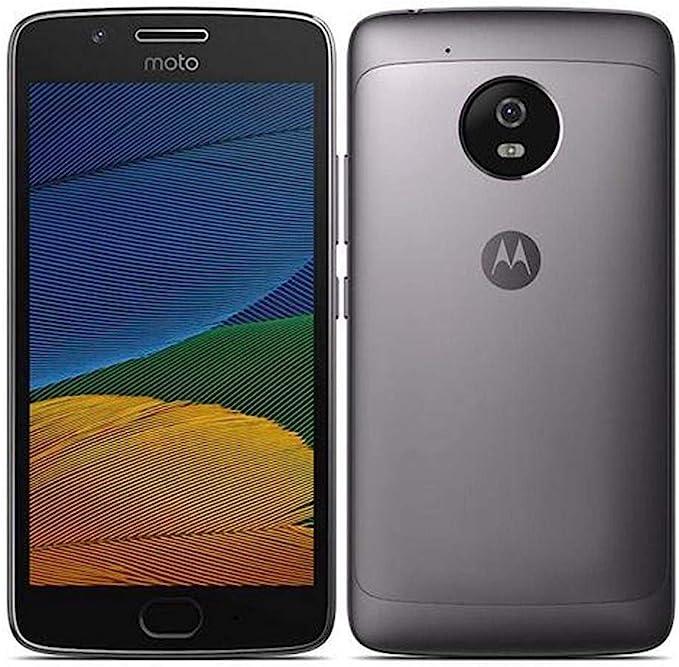 Motorola Moto G Smartphone (5Th Gen) G5-4G LTE Dual Sim Xt1671 32Gb con Huellas Dactilares Octa Core Desbloqueado Lunar Gris: Amazon.es: Electrónica