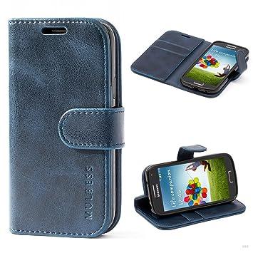 Funda Samsung Galaxy S4 mini, MULBESS Vintage-Style Funda ...