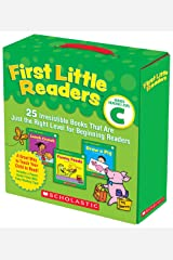First Little Readers Parent Pack: Guided Reading Level C: 25 Irresistible Books That Are Just the Right Level for Beginning Readers Paperback
