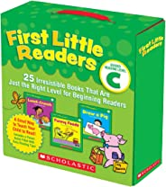 First Little Readers Parent Pack: Guided Reading Level C: 25 Irresistible Books That Are Just the Right Level for Beginning R