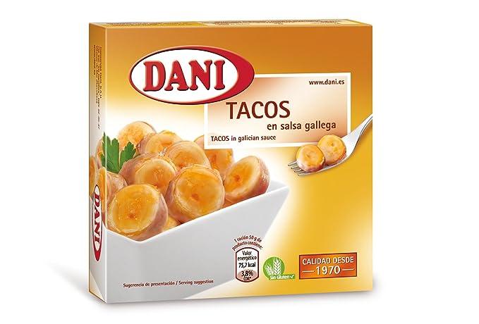 Dani - Tacos De Potón Del Pacífico en salsa Gallega, 120 g