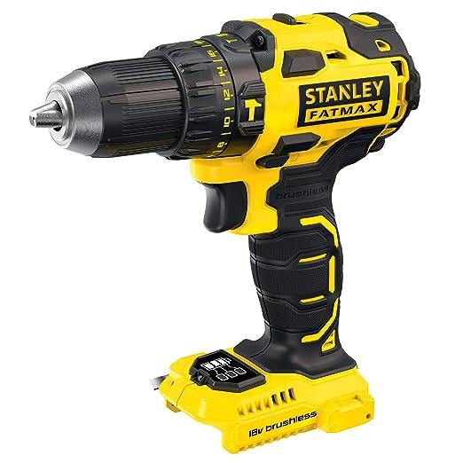 STANLEY FATMAX FMC627B-XJ - Taladro percutor Brushless 18V, 30.600 ipm, (sin batería/cargador)