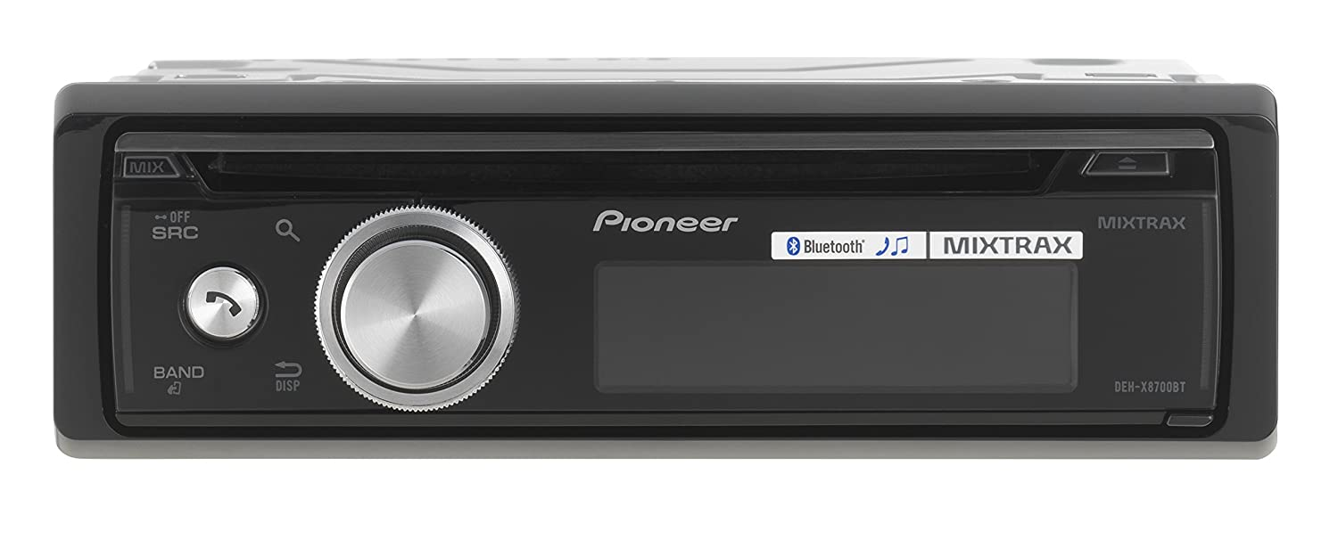 Pioneer DEH-X8700BT Autoradio CD MP3//USB Noir