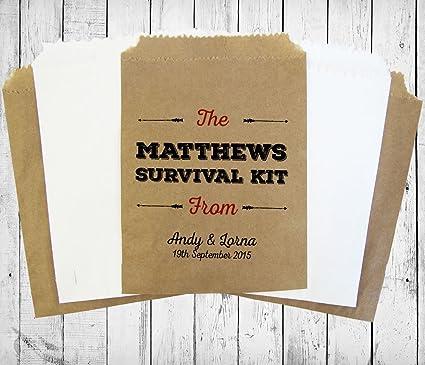 Bolsas para bodas para confeti, gominolas o regalos: Amazon ...