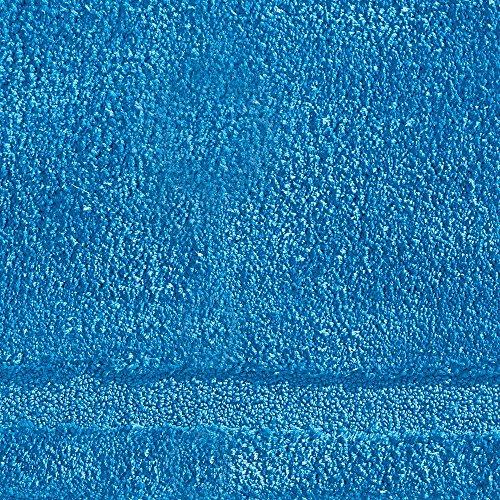 "InterDesign Microfiber Spa Bathroom Accent Rug, 34"" x 21'' Inches, Azure by InterDesign (Image #3)"