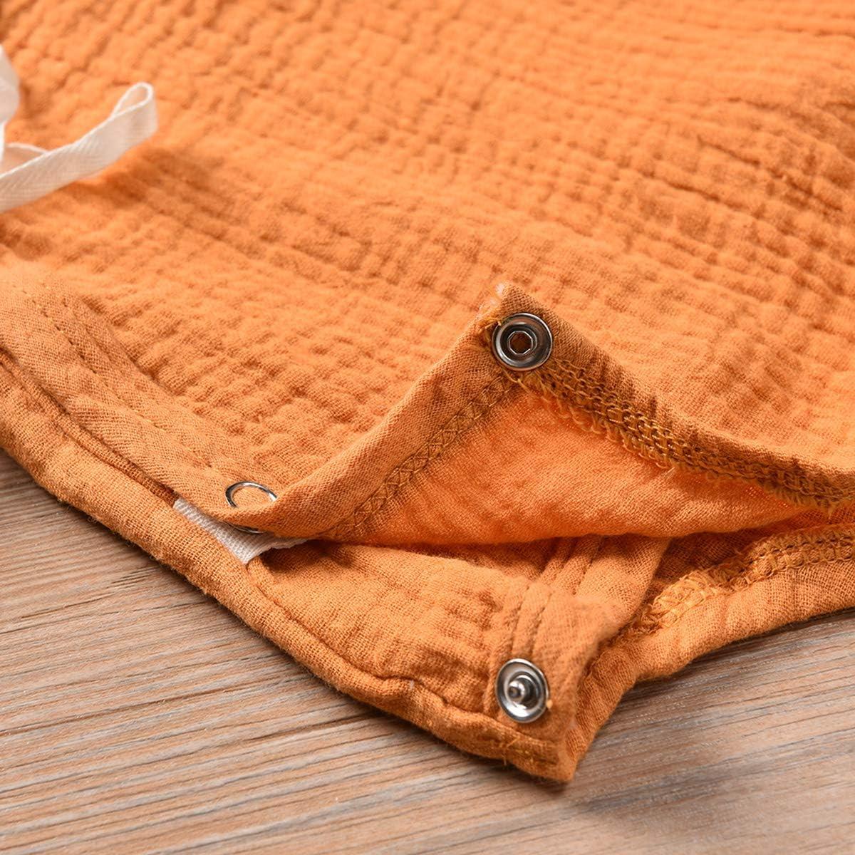 Tianhaik Combinaison-Jersey /à Manches Courtes en Pur Coton pour b/éb/é Kimono//Kimono