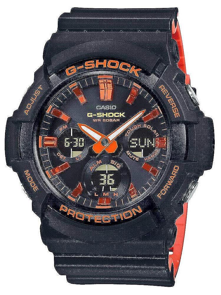 Amazon.com: Casio G-Shock Bright Orange Analog-Digital Series GAS100BR-1A: Watches
