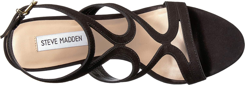 Steve Madden Womens Sidney Heeled Sandal