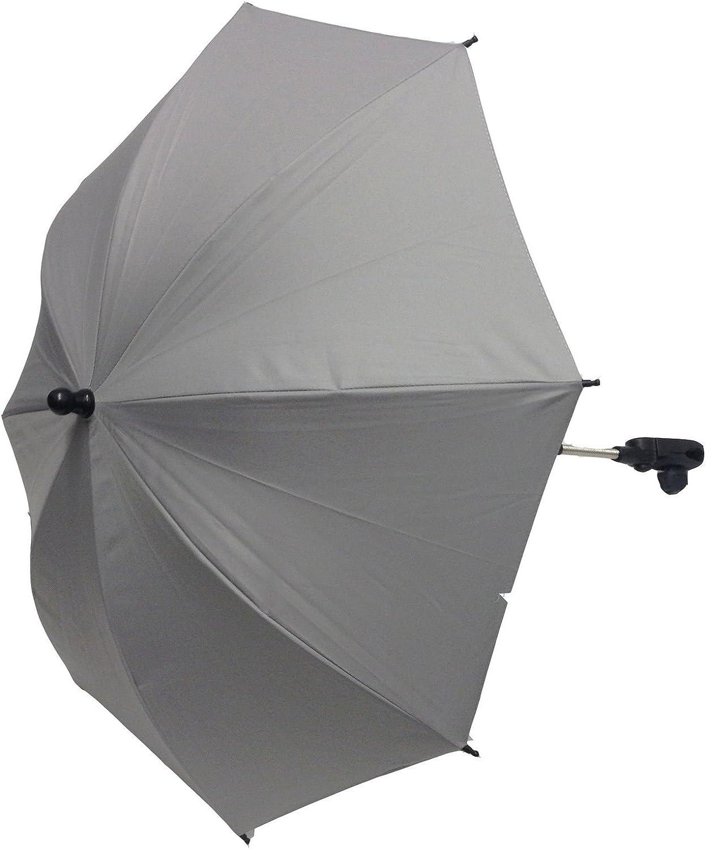 B/éb/é Parasol Compatible avec Hauck Poussette Poussette Landau Gris