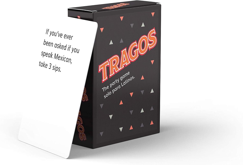 Tragos Party Game for Latinos - Relatable Funny Card Game for Adults - Juegos De Mesa para Adultos