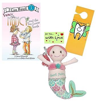 Amazon.com: Maison Chic - Almohada de hada con libro de ...