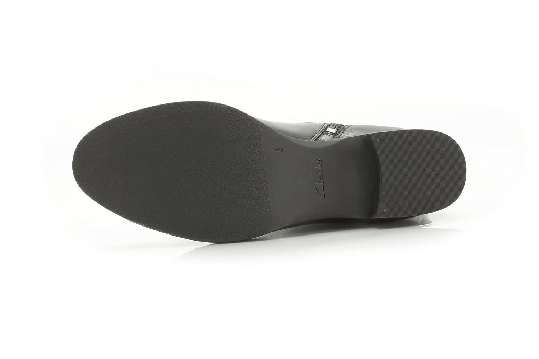 Clarks Likeable Me Damen Schuhe aus Leder, weite Passform, Passform, Passform, Schwarz c1609e
