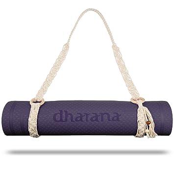 Dharana Correa Para Esterilla de Deporte Yoga - Bolsa de Trasporte Colchoneta - Yoga Mat Pilates Gimnasia Fitness - Strap Yoga- Accesorio Funda Yoga ...