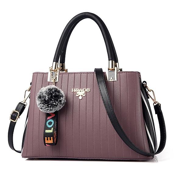 Dunland Bolsos de Mujer Bolso Hombro Bolso Bandolera Carteras bolsos diseñador bolso mensajero bolsa Bolso Señoras Tote 43 gris: Amazon.es: Zapatos y ...