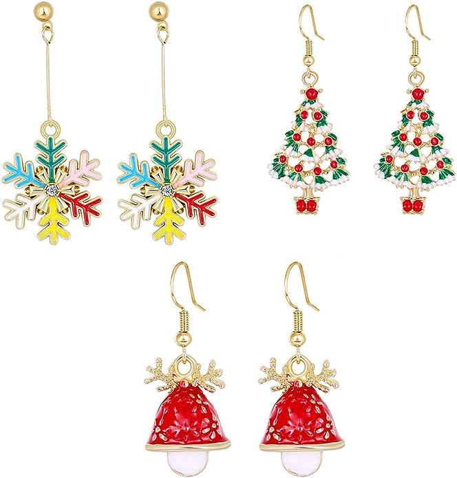 Ladies Christmas Earings 10.99 Free Shipping and Handling
