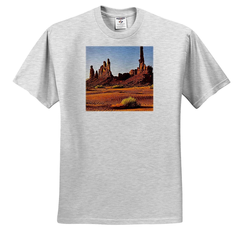 Arizona Arizona USA Monument Valley Adult T-Shirt XL Totem 3dRose Danita Delimont ts/_314551