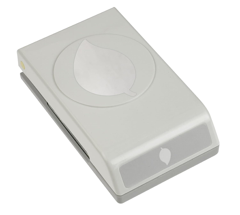 EK Success-Perforatrice a pressione per carta, misura grande, colore: verde foglia, 1,5 cm Notions Marketing 54-30183