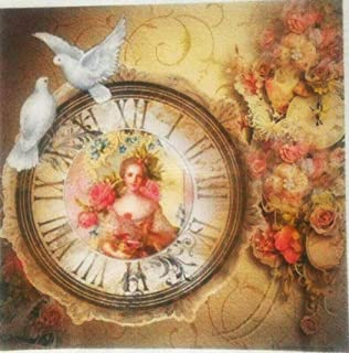 Paper for decoupage Vintage Style Total 3 Sheets A4 // 20x20 cm
