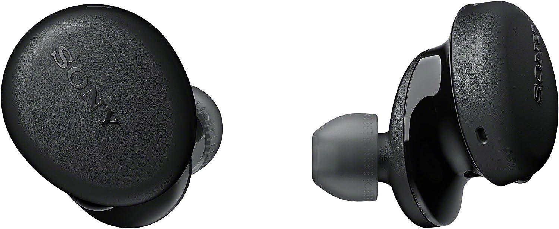 Sony WFXB700 - Auriculares True Wireless (Totalmente inalámbrico, Bluetooth, Extra Bass, Micro para Llamadas Manos Libres, 18h de batería, Resistencia IPX4), Negro