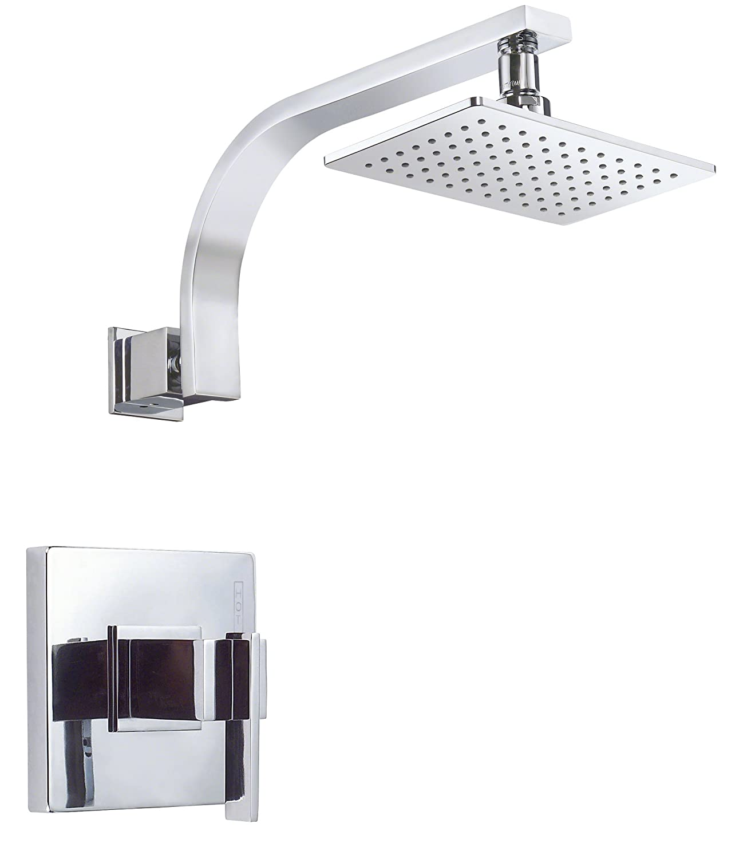 Danze D T Sirius Single Handle Shower Trim Kit 2 0 GPM