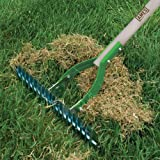 AMES 2915100 Adjustable Self-Cleaning Thatch Rake