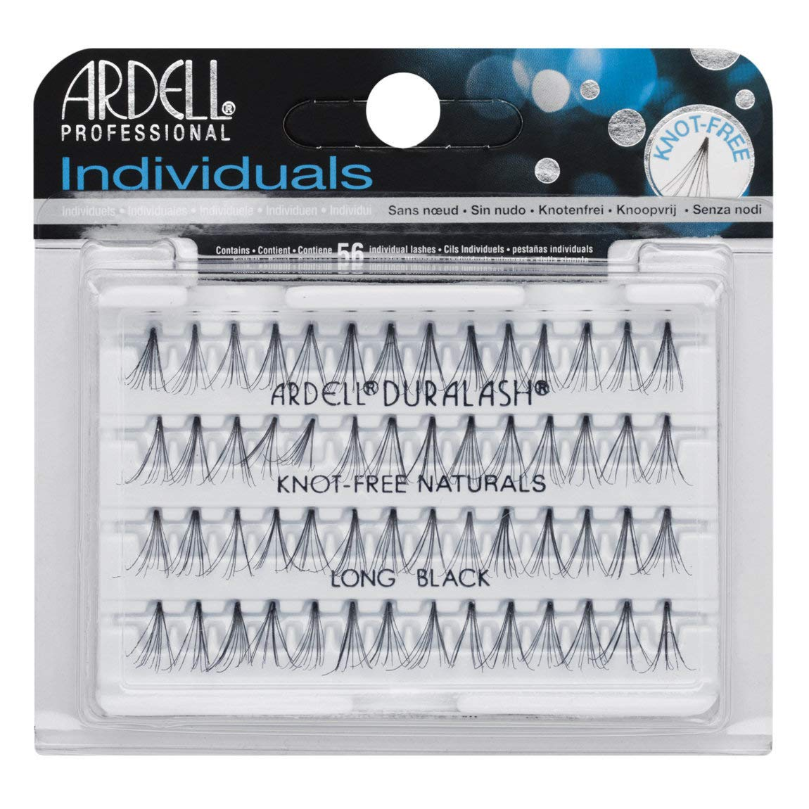 (3 Pack) ARDELL False Eyelashes - Duralash Long Black usa-iiu-tm842