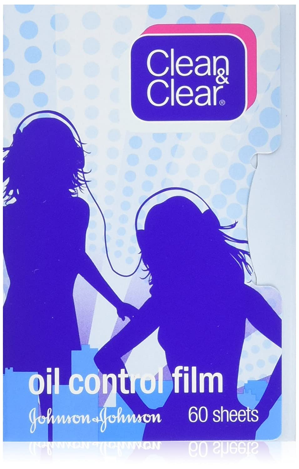 Oil Control Film Clean & Clear Oil-Absorbing Sheets 60 Sheets (Pack of 3)