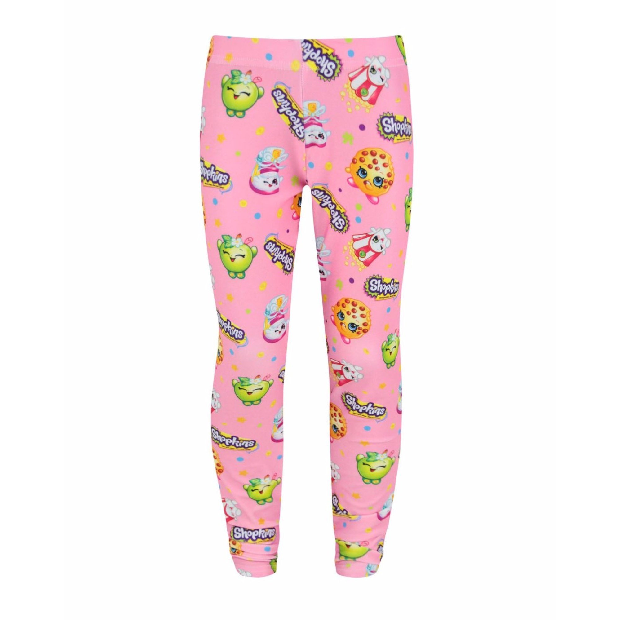 Shopkins Childrens/Girls Official Icons Design Leggings (Years (9/10)) (Pink)