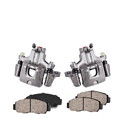2 Hardware Brake Kit Callahan CCK04171 REAR Premium Semi-Loaded Original Caliper Pair