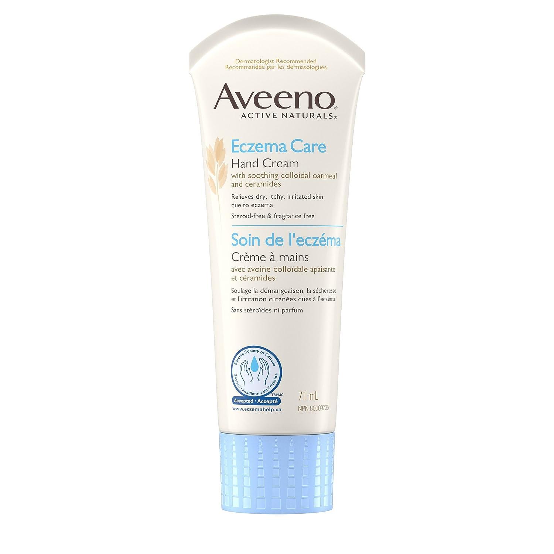 Aveeno Ezcema Care Moisturizing Cream, Active Naturals Unscented Anti Itch Lotion, 166mL