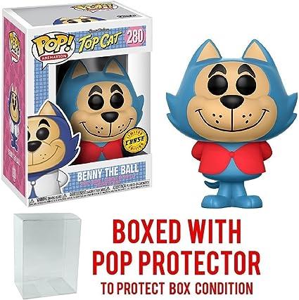 FUNKO POP HANNA BARBERA TOP-CAT VINYL FIGURE FREE POP PROTECTOR
