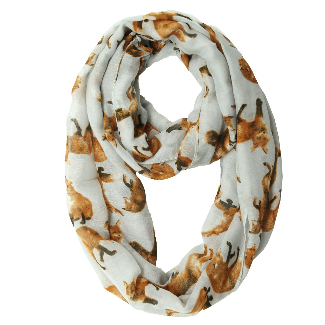 MissShorthair Lightweight Women Scarves Dachshund Dog Print Animal Scarf Shawl Wrap 20172Cat-1