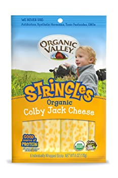 Organic Valley Colby Jack String Cheese