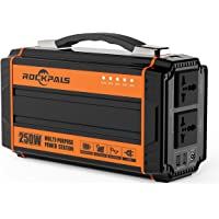 Rockpals poratble Solar Power Generator 250wat