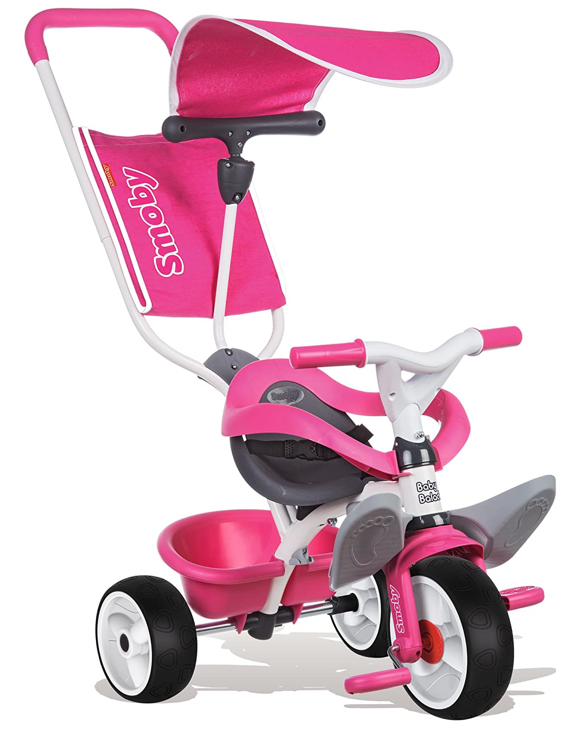 Smoby Triciclo baby balade color rosa