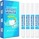 Teeth Whitening Pen Gel (4 Pens), Painless, Effective, Remove Years of Stains, Instant Teeth Whitener Gel Pen Kit, Smart Whitening, Beautiful White Smile, Mint Flavored Teeth Whitener