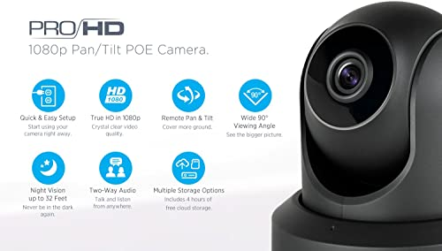 Amcrest ProHD 1080P POE Power Over Ethernet IP Camera