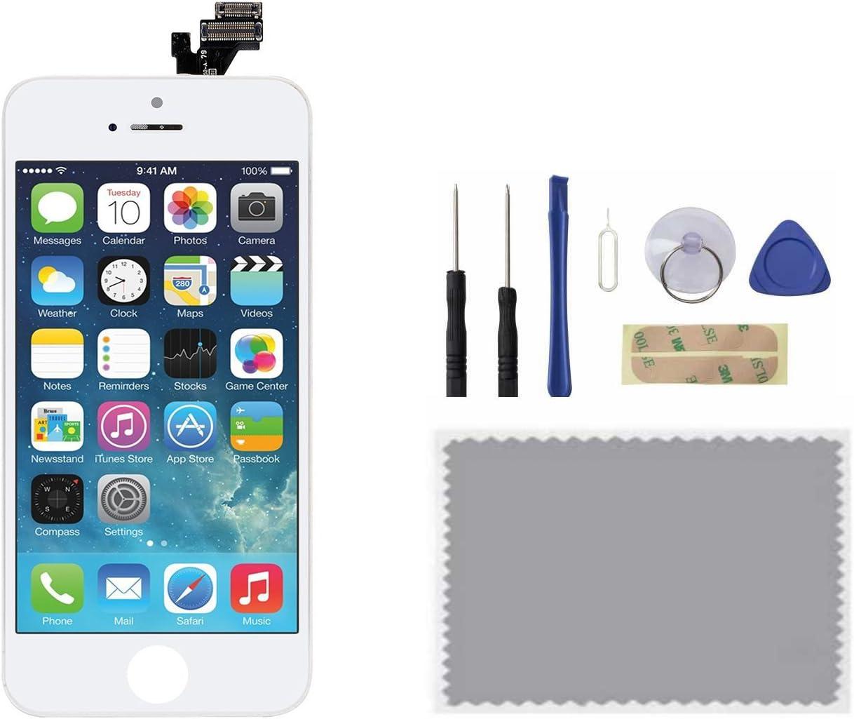 Set di Strumenti. upHere Per iPhone 6 NERO Touch Screen Vetro Schermo LCD Display Assemblato 4,7