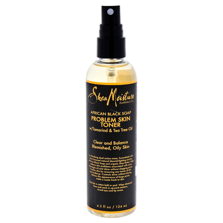 Shea Moisture African Black Soap Problem Skin Toner, 4.2 Ounce
