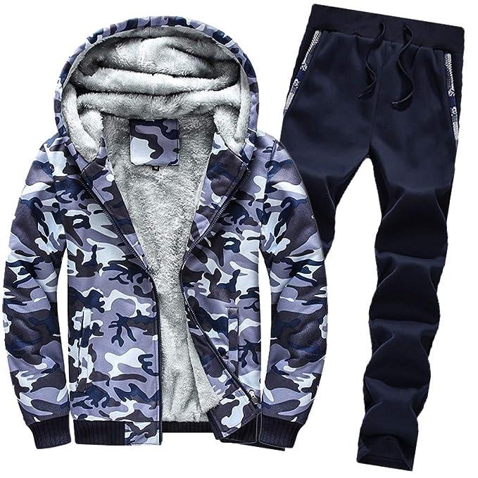 Outwear Traje Sudadera con Capucha para Hombre Invierno ...