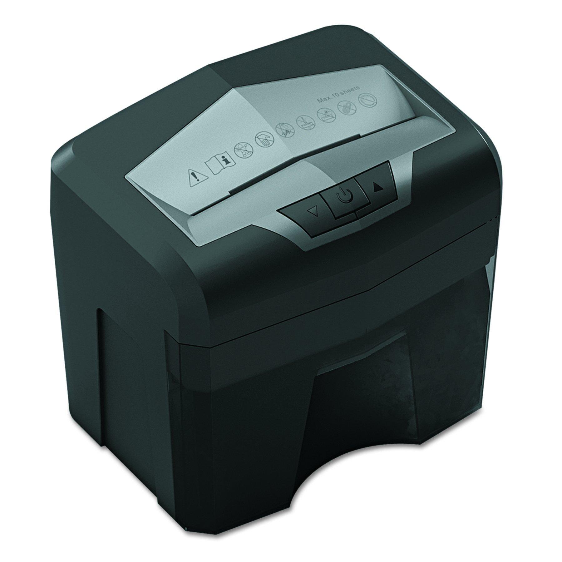 Universal 48100 48100 Light-Duty Cross-Cut Shredder, 10 Sheet Capacity