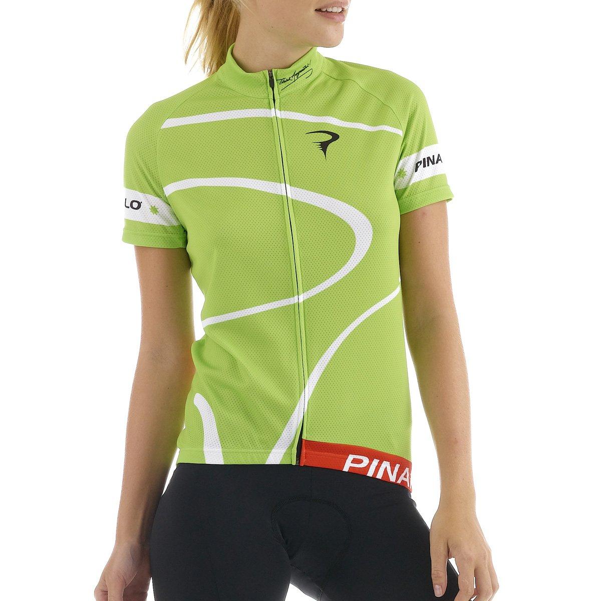 ピナレロ2016レディースMiraクラシック半袖サイクリングジャージー – pi-s5-wssj-mira Medium MIRA - Green/White B00TOP8KMW