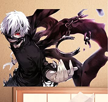Amazon.com: Cool Colorful Cosplay Anime Tokyo Ghoul Ken ...