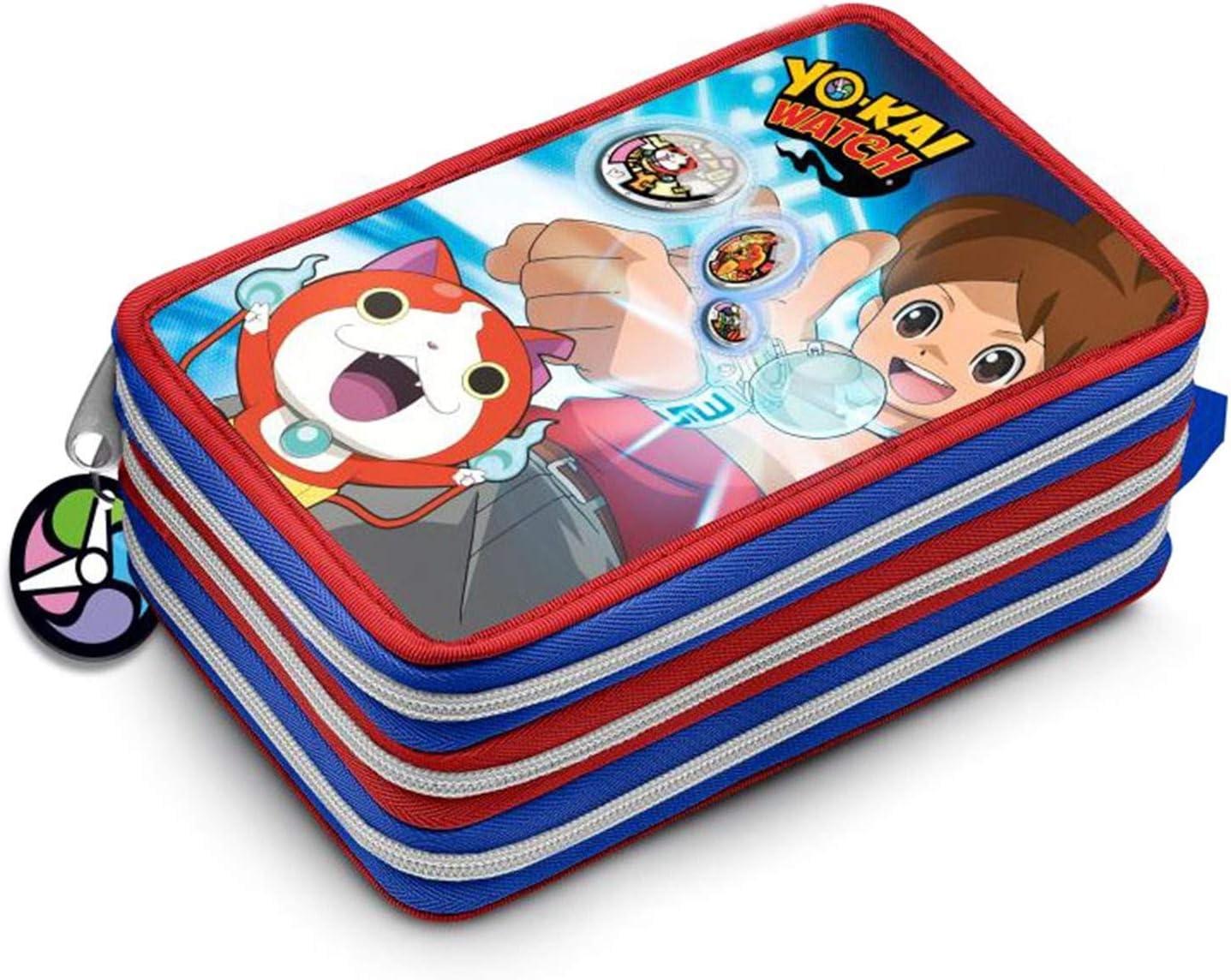 PENCIL CASE 3 ZIP Yo-kai Watch: Amazon.es: Juguetes y juegos